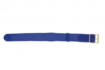 Perlon strap 18mm light blue