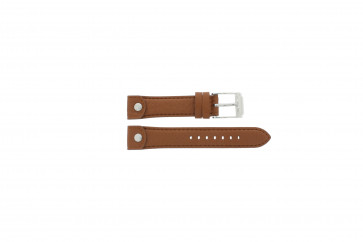 Watch strap Michael Kors MK2165 Leather Brown 18mm
