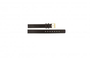 Watch strap Skagen 358XSGLD Leather Brown 12mm