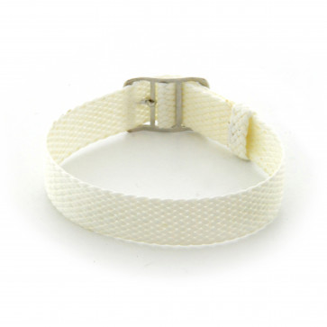 Perlon strap 20mm white