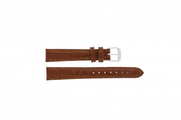 Watch strap Condor 119R.03 Leather Brown 14mm