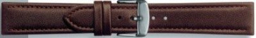 Watch strap Universal 283R.02 Leather Brown 18mm
