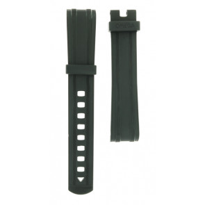 Watch strap Omega 21032422001001 Silicone Black 20mm