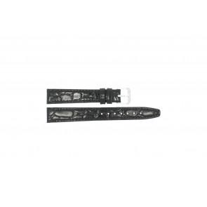 Watch strap Condor 082R.01 Leather Black 14mm