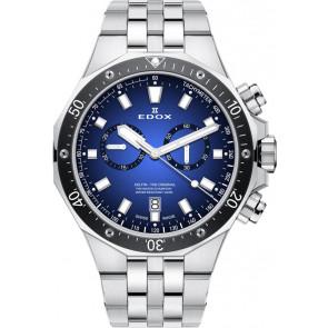 Watch strap Edox 10109 3M BUIN Steel Steel