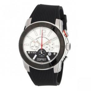Esprit watch strap ES101681006 Rubber Black 22mm