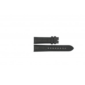 Esprit watch strap ES103342006 Leather Black 20mm + black stitching