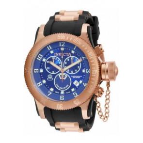 Watch strap Invicta 15569.01 / 15568 Rubber Black 26mm