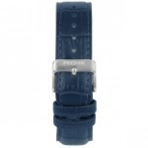 Watch strap Prisma 1601 Leather Blue 21mm
