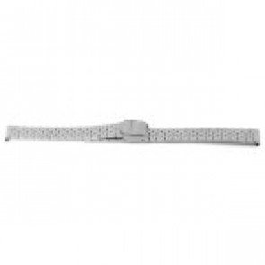Watch strap Prisma 1690 Stainless steel Steel 16mm