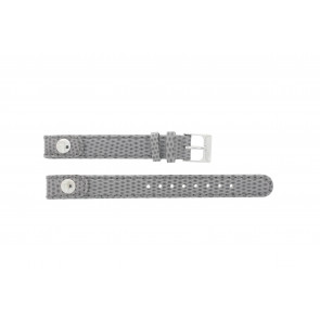 Lacoste watch strap 2000385 / LC-05-3-14-0009 / GR Leather Grey 12mm + grey stitching
