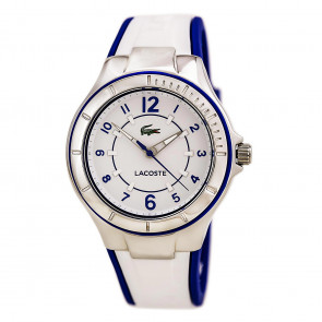 Lacoste watch strap LC-69-3-14-2479 / 2000799 / 22mm Rubber Multicolor 18mm