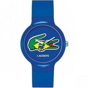 Lacoste watch strap LC-46-4-47-2503 / 2020069 / 20mm Rubber Multicolor 14mm