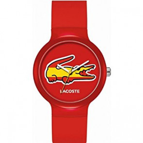 Lacoste watch strap LC-46-4-47-2504 /2020071 / 20mm Rubber Multicolor 14mm