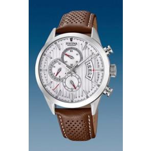 Watch strap Festina F20271-1 / F20271-2 Leather Cognac 21mm