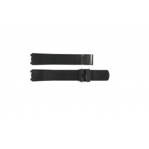 Watch strap Skagen 233STMB Steel Black 18mm