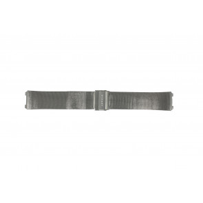 Watch strap Skagen 233XLTTM Steel Anthracite grey 20mm