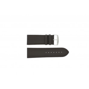 Watch strap Universal 306.02 Leather Brown 28mm