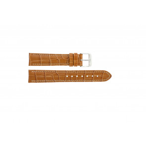 Watch strap Universal 285R.27 Leather Brown 18mm