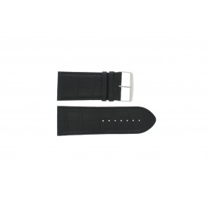 Buffalo calf strap black 30mm PVK-305