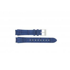 Prisma watch strap 33 832 117 Leather Blue 14mm + blue stitching
