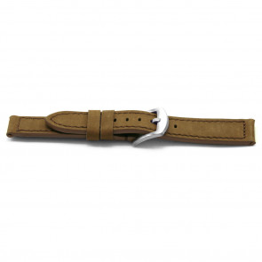 Watch band leather 16mm EX-E337