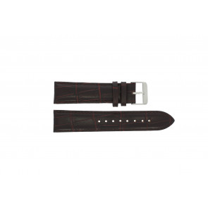 Prisma watch strap 33C631012 Leather Brown 22mm + brown stitching