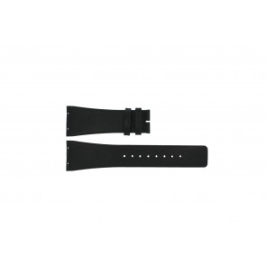 Boccia watch strap 3541-02 Leather Black 20mm