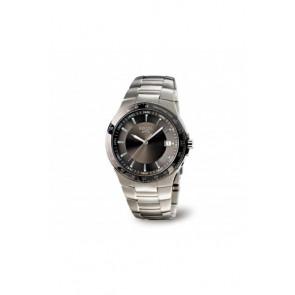 Watch strap Boccia 3549-1 Titanium Titanium