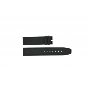 Boccia watch strap 3780-01 Leather Black 20mm + standard stitching
