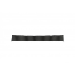 Watch strap Universal 382960 Steel Black 22mm