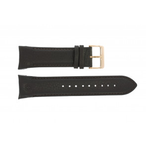 Watch strap Swiss Military Hanowa 06-4278 / 06-4278.04.001.05 / 06-4278.09.001 Leather Dark brown 24mm