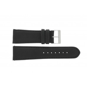Watch strap Universal 61215B.10.26 Leather Black 26mm