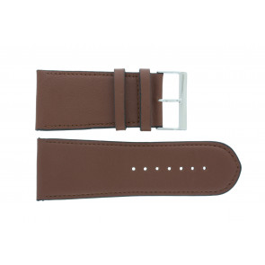 Watch strap 61215EB.23.34 Leather Brown 34mm + default stitching