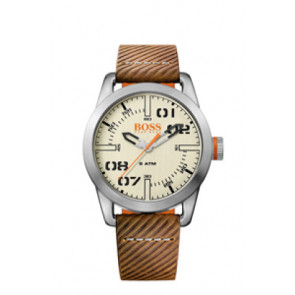 Watch strap Hugo Boss HB-291-1-14-2938 / 659302741 Leather Brown 22mm