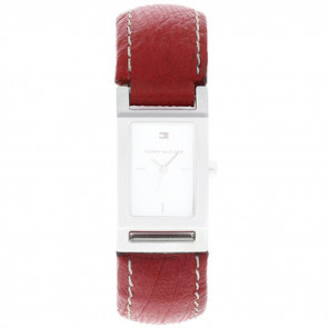 Watch strap Tommy Hilfiger 679300818-8471503 Leather Red
