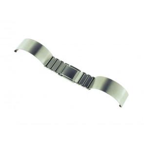 Watch strap  Metal Silver 12mm