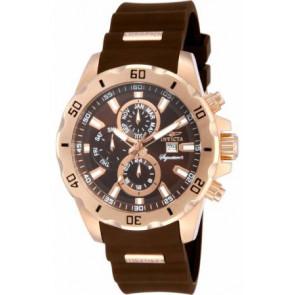 Watch strap Invicta 7484.01 Rubber Brown