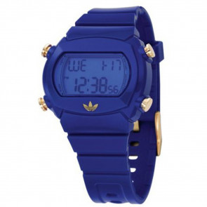 Watch strap Adidas ADH1820 Plastic Blue