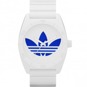 Watch strap Adidas ADH2704 Rubber White 22mm