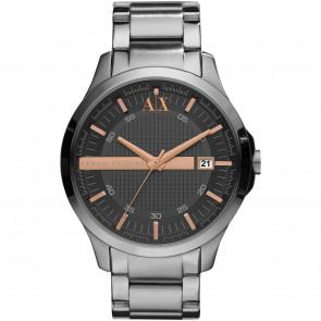 Watch strap Armani Exchange AX2102 Steel Steel 22mm