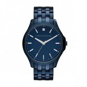 Watch strap Armani Exchange AX2184 Steel Blue 22mm