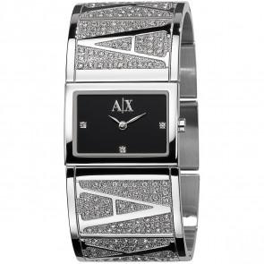 Watch strap Armani Exchange AX4050 Steel Steel 26mm