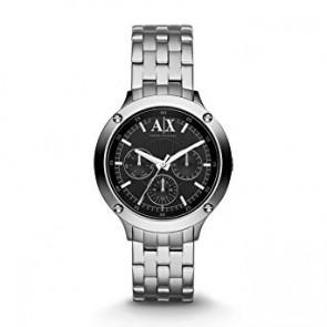 Watch strap Armani Exchange AX5400 Steel Steel 18mm