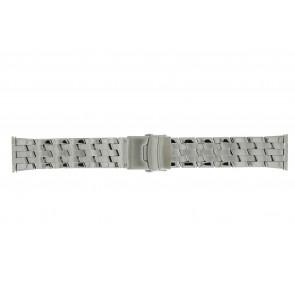 Morellato watch strap BE22.0634 Metal Silver 24mm