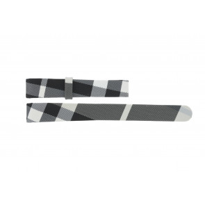Watch strap Burberry BU1078 Leather Multicolor 14mm