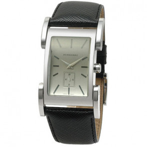 Watch strap Burberry BU1100 Leather Black 26mm
