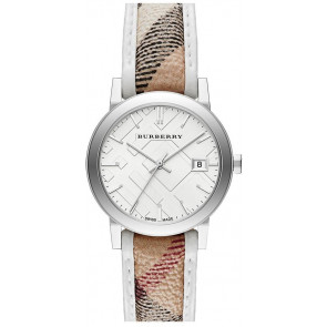 Watch strap Burberry BU9136 Leather Multicolor