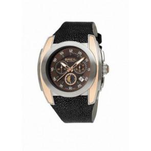 Watch strap Breil BW0380 Leather Black 28mm