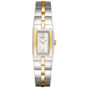 Watch strap Certina C0021092203200A / C605011453 Steel Bi-color
